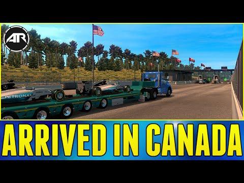 скачать для American Truck Map Mod Canada American Truck Simulator : ARRIVED IN CANADA » ATS mods | American