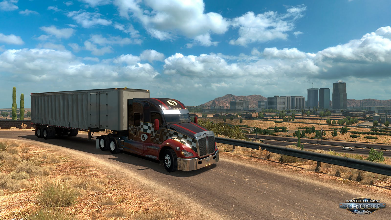 Arizona map DLC expansion for American Truck Simulator released!