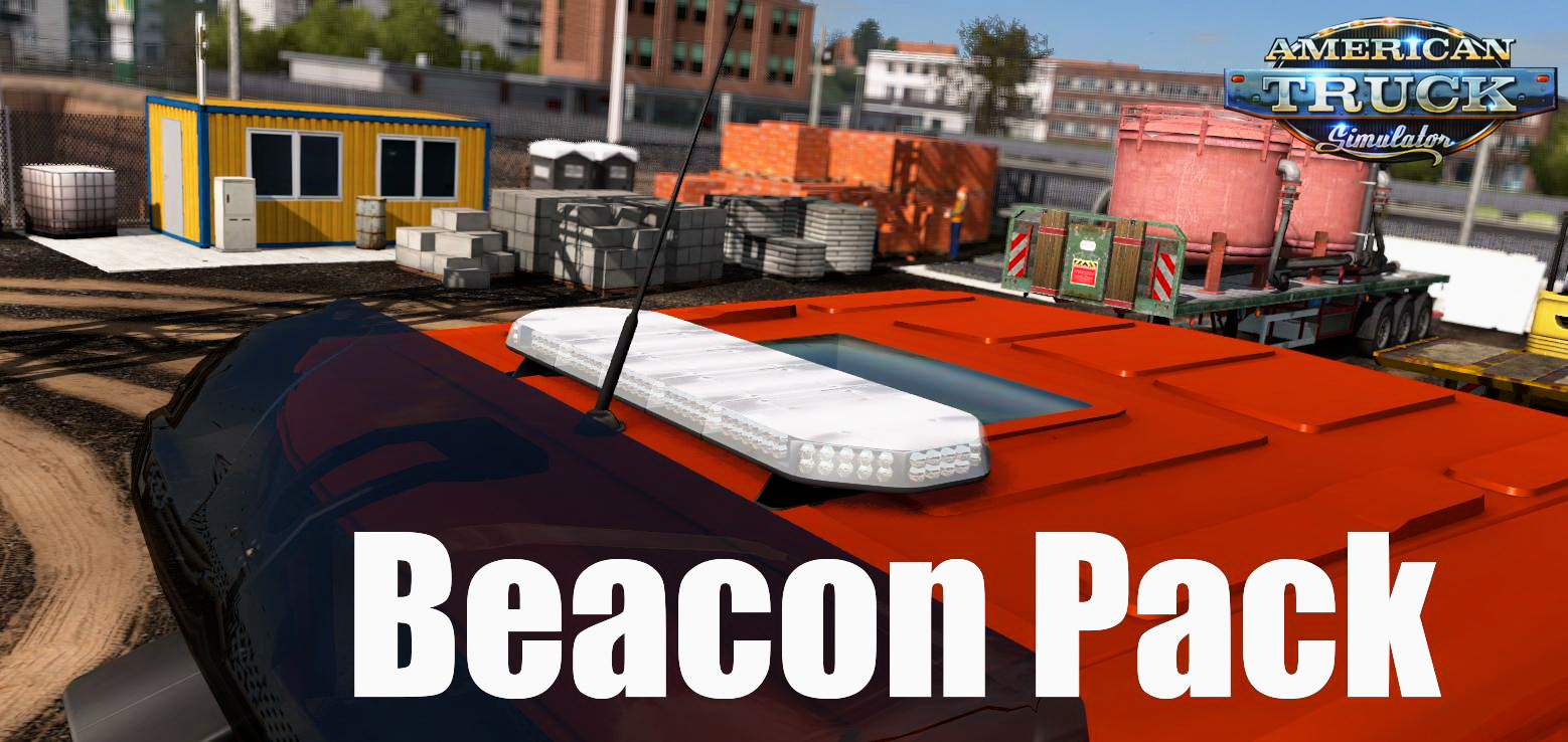 Beacon Pack for all trucks v1.5 by Matgamer