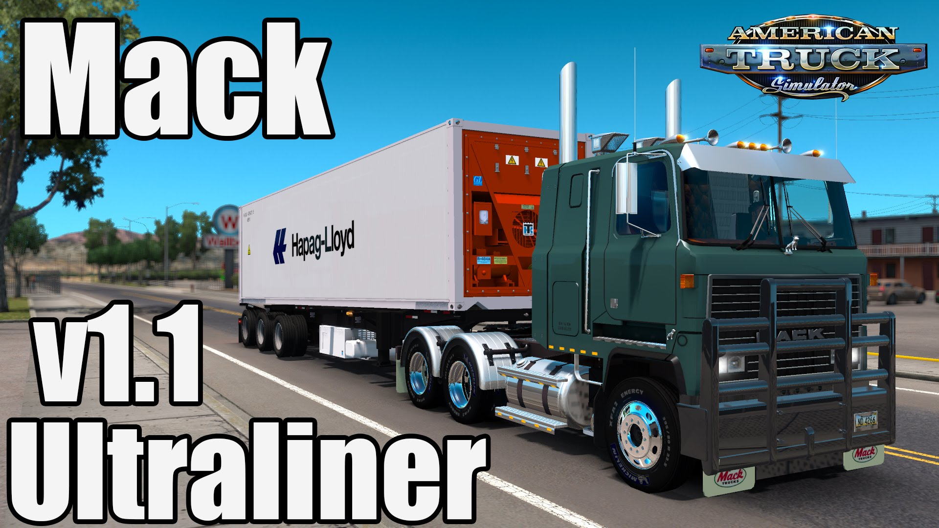 Mack Ultraliner + Interior v1.1 (v1.3.x)