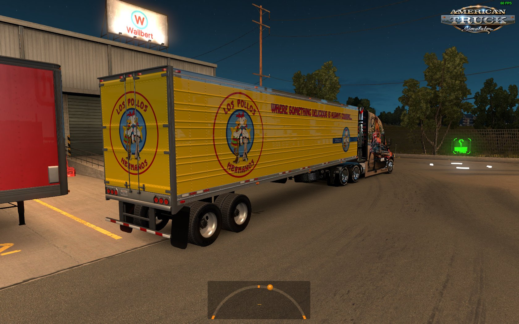 Los Pollos Hermanos 579 Skin and Standalone Trailer (Fixed) (v1.6.x)