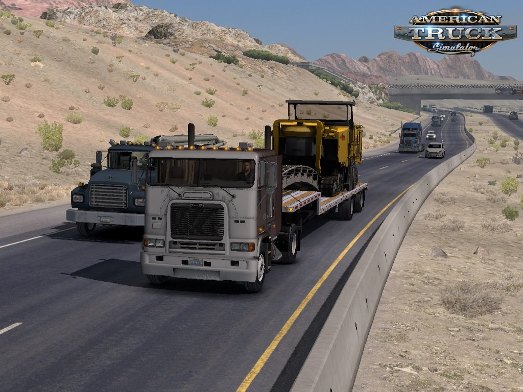 Traffic density mod for ATS [1.6.x]