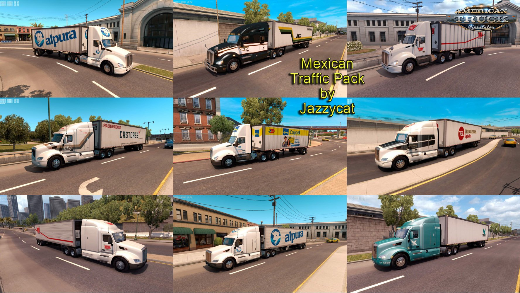Mexican Traffic Pack v1.3 by Jazzycat (v1.6.x)