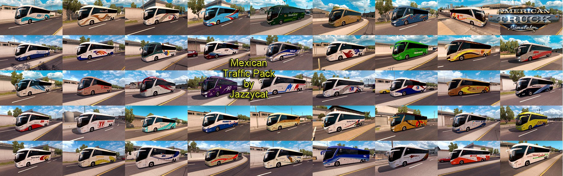 Mexican Traffic Pack v1.2 for Ats