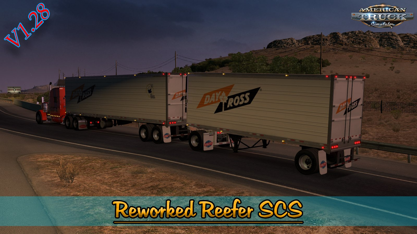 Reworked Trailer Reefer v1.0 (1.28.x) for ATS