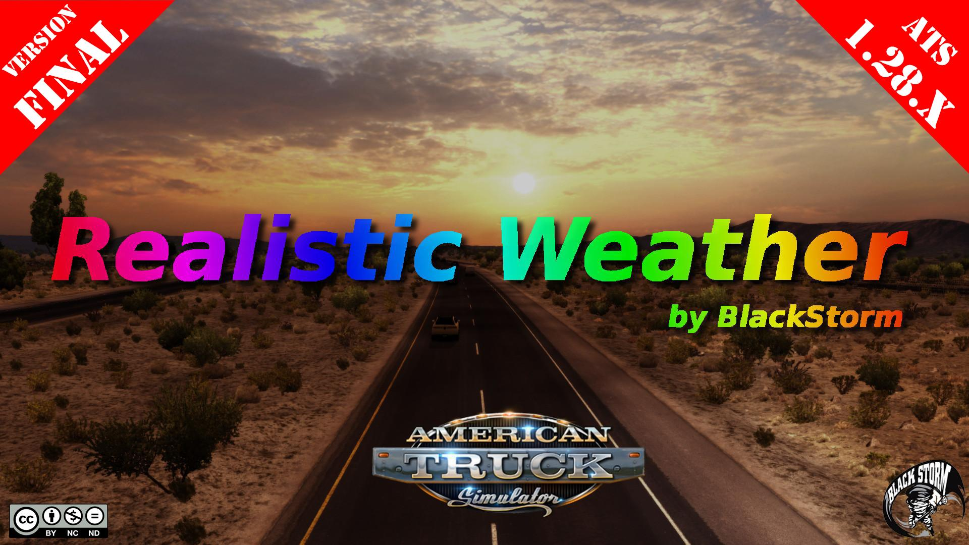 Realistic Weather v1.0  (Final Version) by BlackStorm (1.28.x)