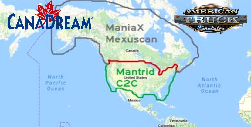 CanaDream Map (Update) v2.6.1 by ManiaX (1.32.x)