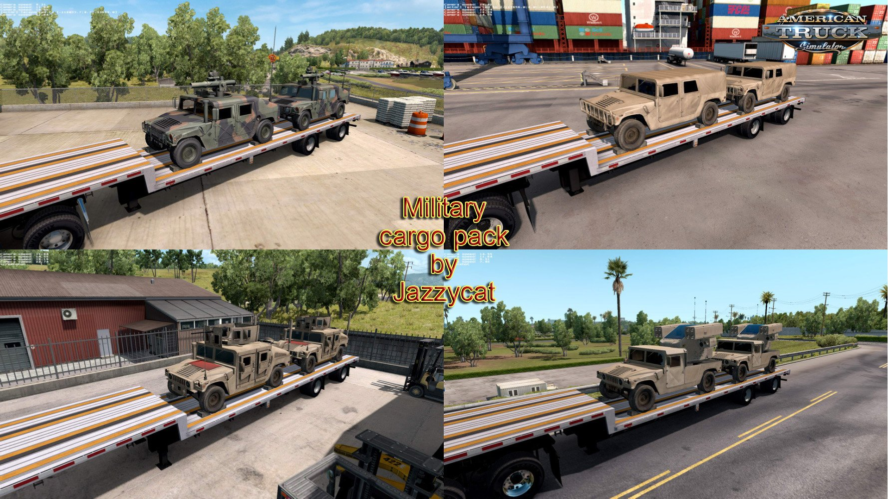 Fix for Military Cargo Pack by Jazzycat v1.1(ATS)