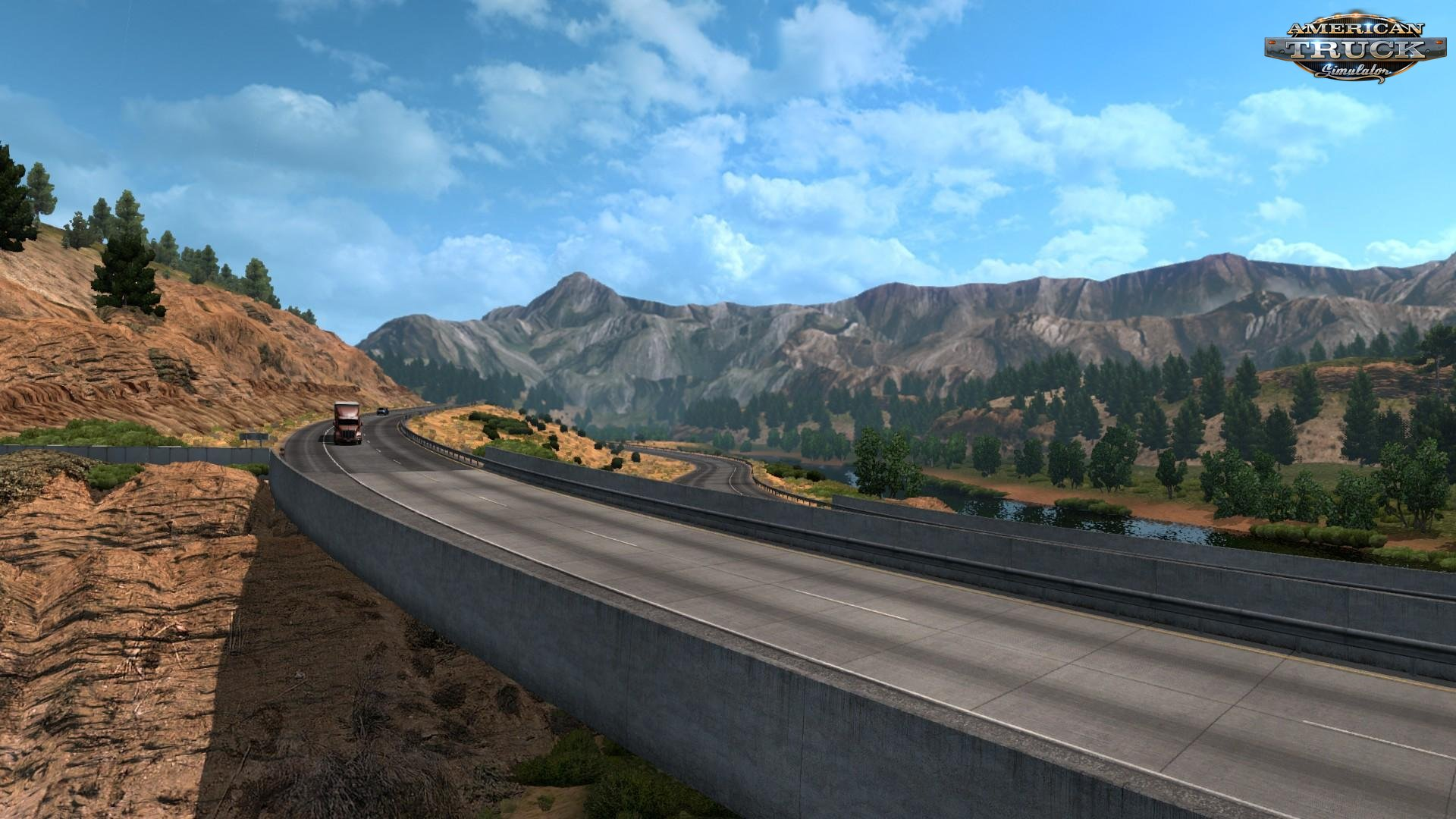 New Mountain Textures v5.0 for ATS