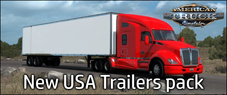 New USA Trailers Pack v3.0 (1.30.x)