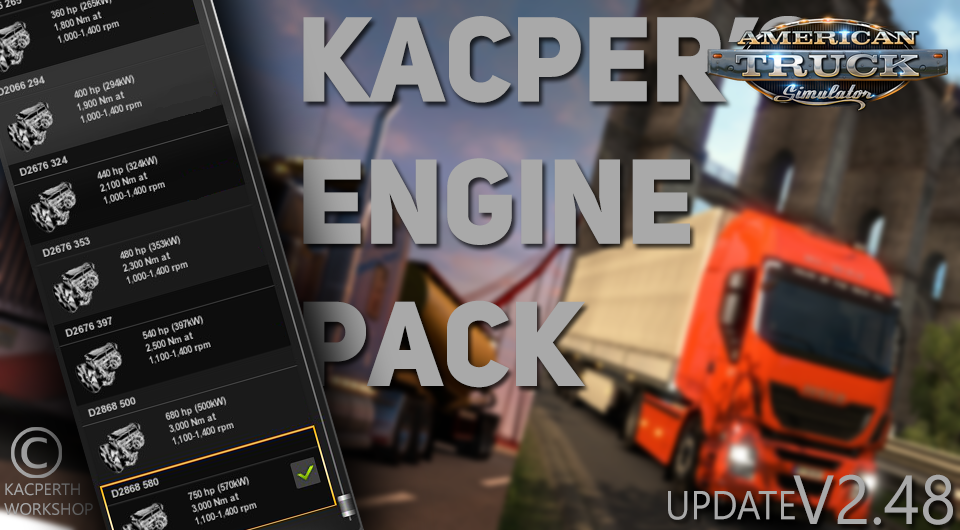 Kacper's Engine Pack v2.48 [1.29.x]