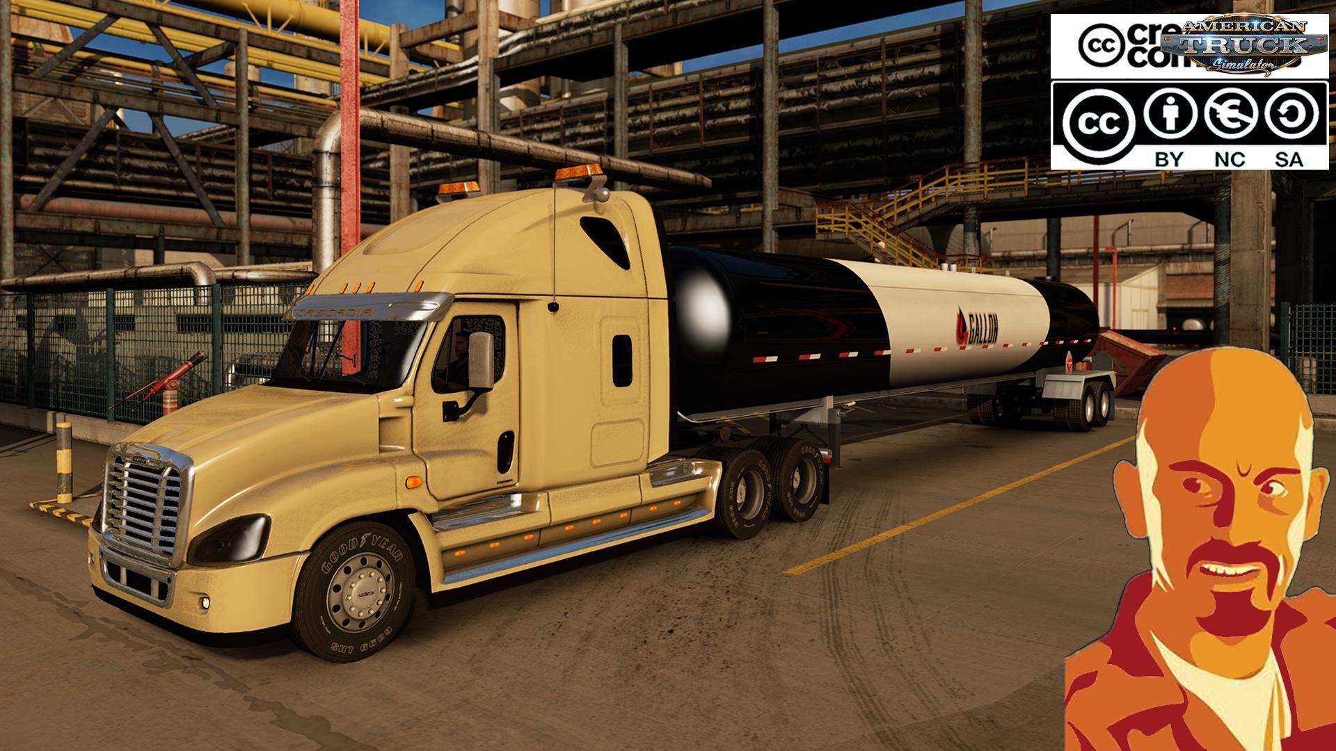 Freightliner Cascadia v1.0 by CyrusTheVirus (1.29.x)