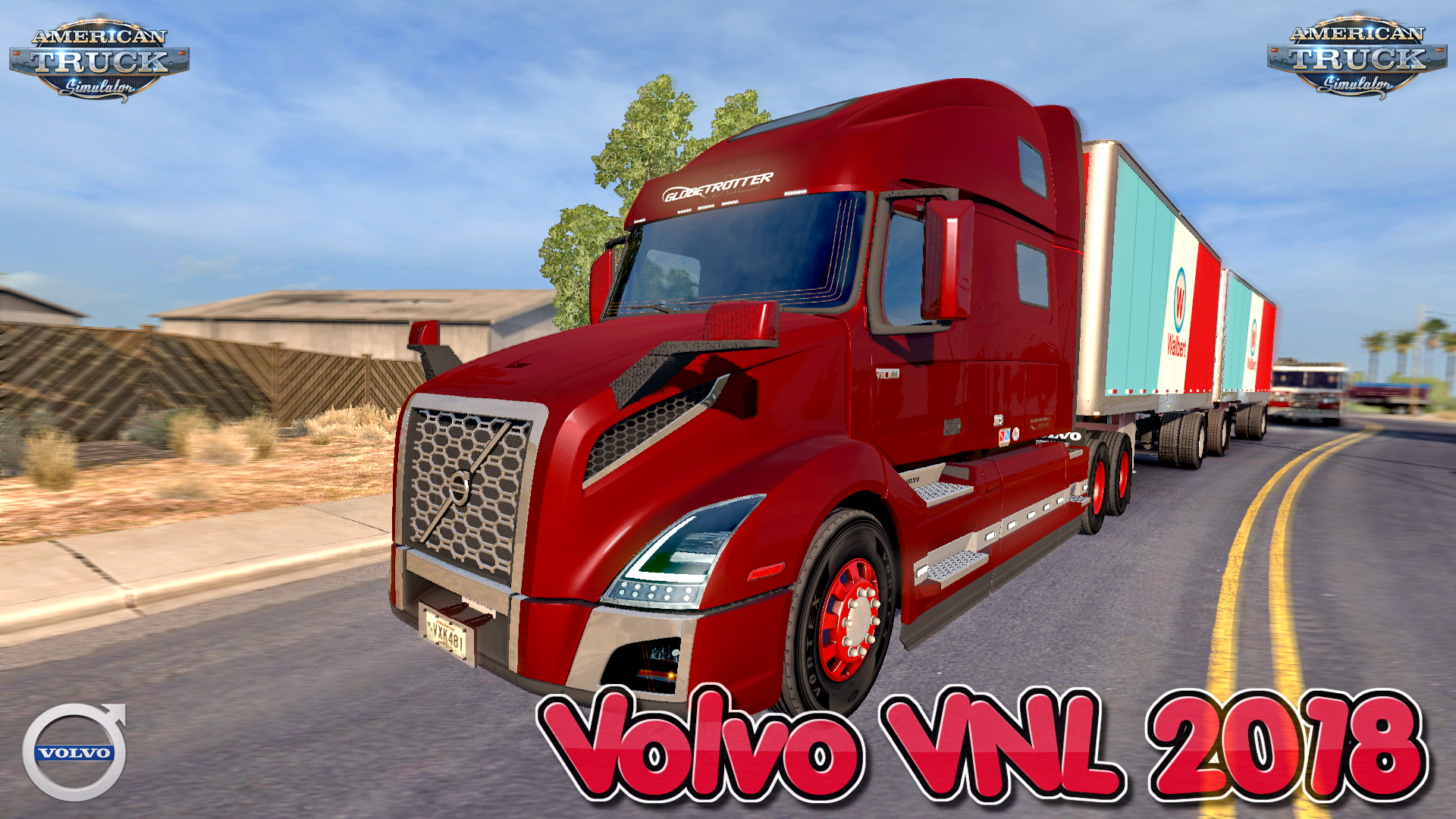Volvo VNL 2018 + Interior v1.17 Edit by galimim (1.33.x)