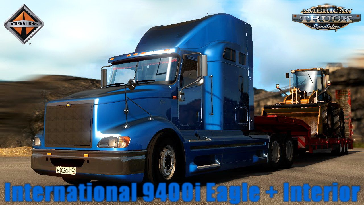 International 9400i Eagle + Interior v1.0 (1.29.x)