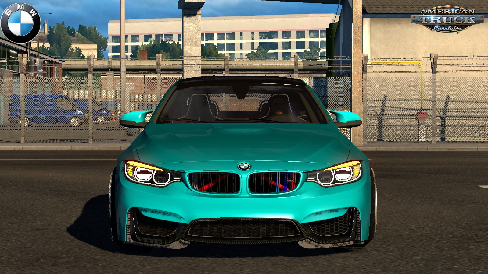 BMW M4 F82 + Interior v4.1 by KadirYagiz (1.38.x)