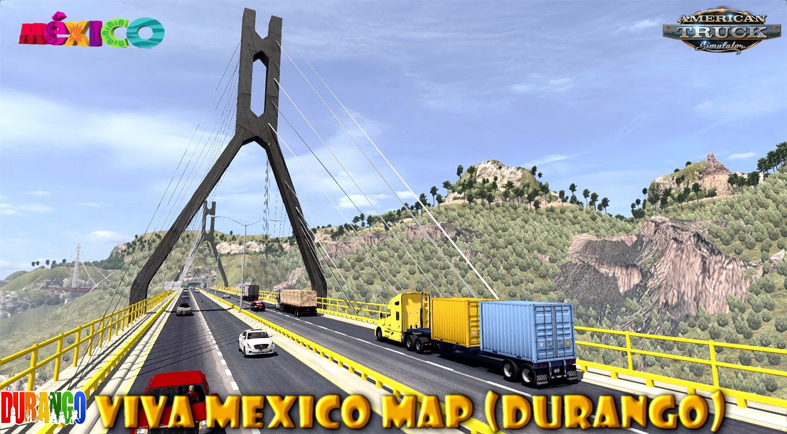 Viva Mexico Map (Durango) v2.4.3 (1.30.x)