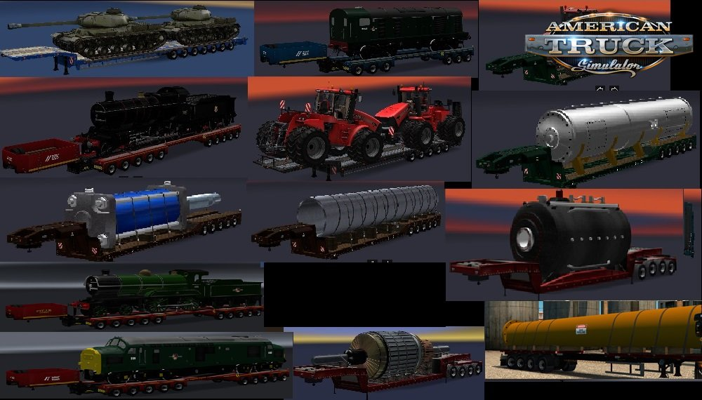 Heavy Trailers Pack v1.0 by Chris45 (1.30.x)