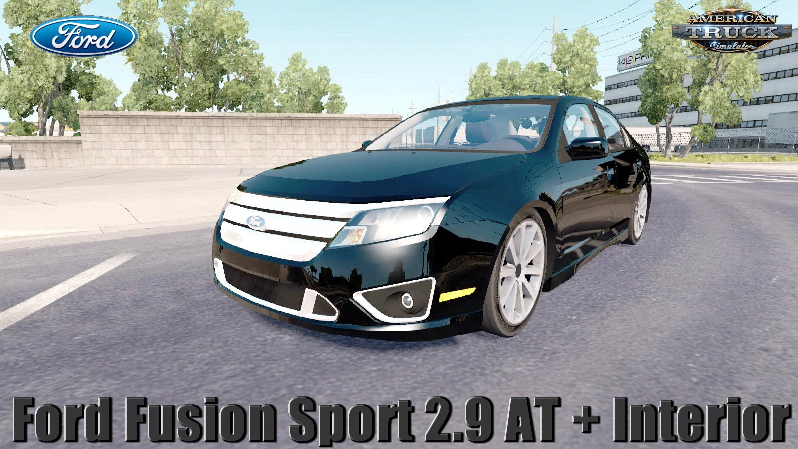 Ford Fusion Sport 2010 2.9 AT + Interior v1.0 (1.31.x)