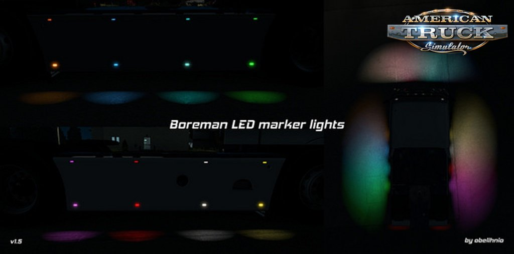 Boreman LED Marker Lights v1.5 by obelihnio