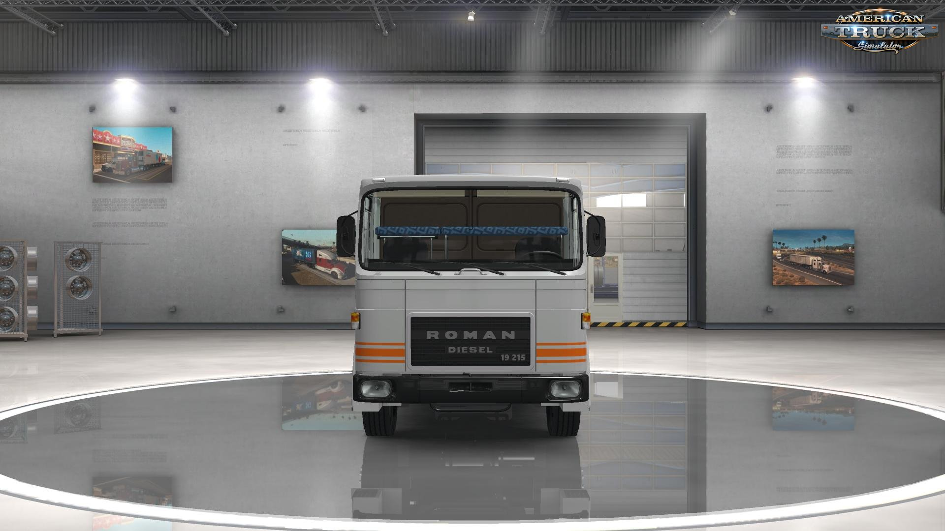 ROMAN Diesel + Interior v1.1 by MADster (1.31.x) (ATS)
