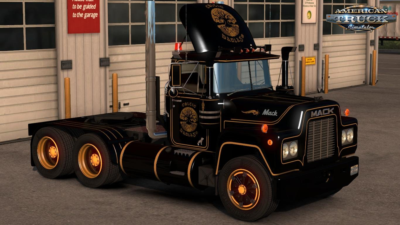 Celtic Haulage Pack Skins for Mack R Series v1.0 (1.31.x)