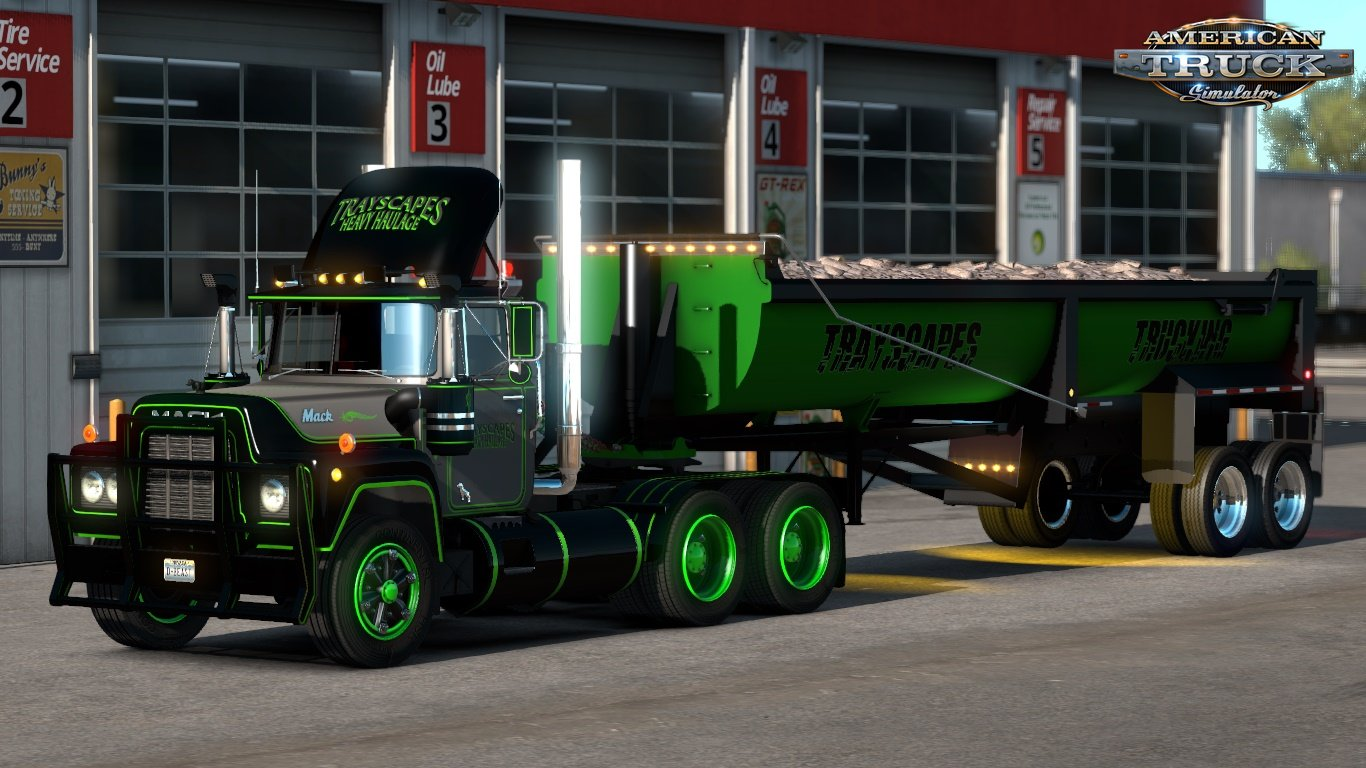 Trayscapes Mack R Series Skins Ats and Ets2 games