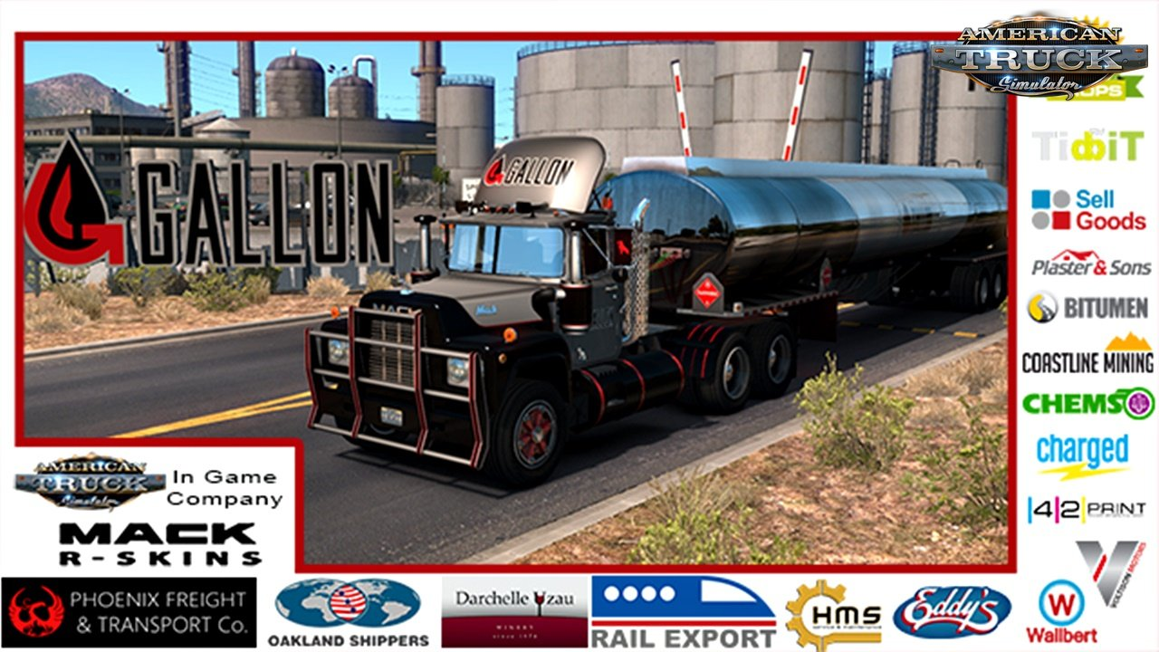 ATS Company Skins For Mack R Series