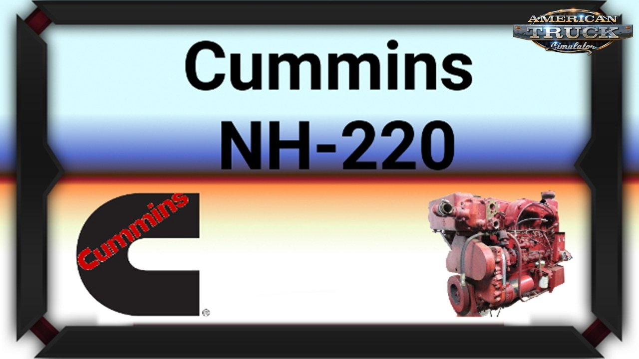 Cummins NH-220 Engine for Ats