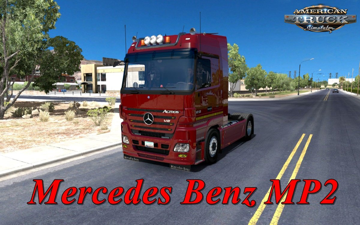 Mercedes Benz MP2 update for Mercedes Trucks Megapack for Ats [1.31.x]