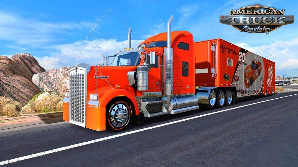 Realistic Graphics Sweet FX Mod v1.6 for Ats by Yan Red