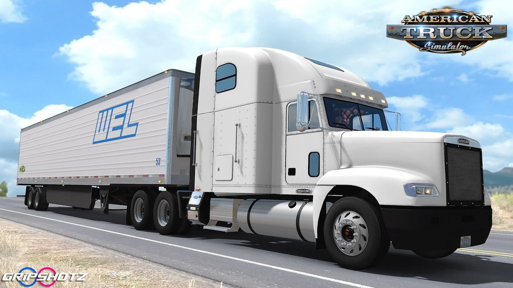 Freightliner FLD + Interior v2.0 by odd_fellow (1.32.x)