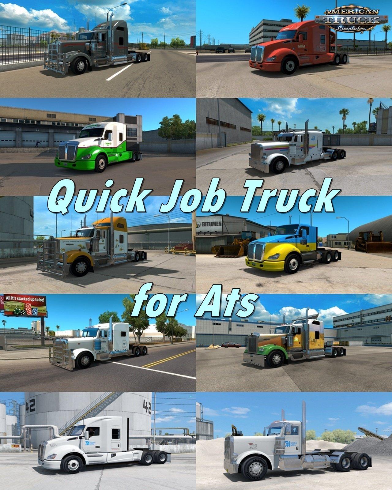 Quick Job Truck v1.3 for Ats