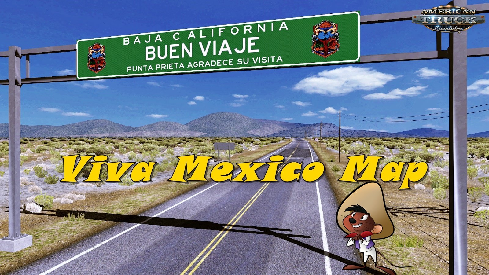 Viva Mexico Map v2.5.3 (1.37.x) for ATS