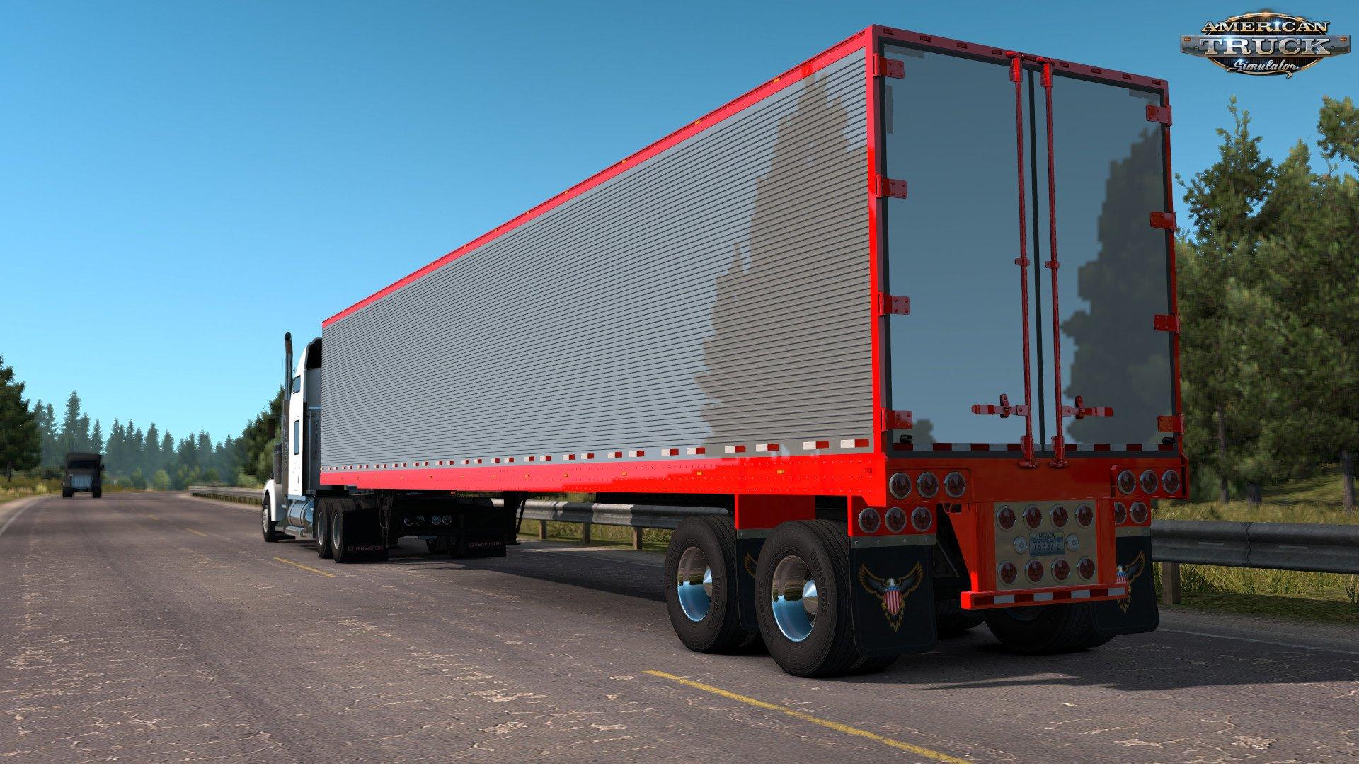 Custom 53' trailer v1.2 for Ats