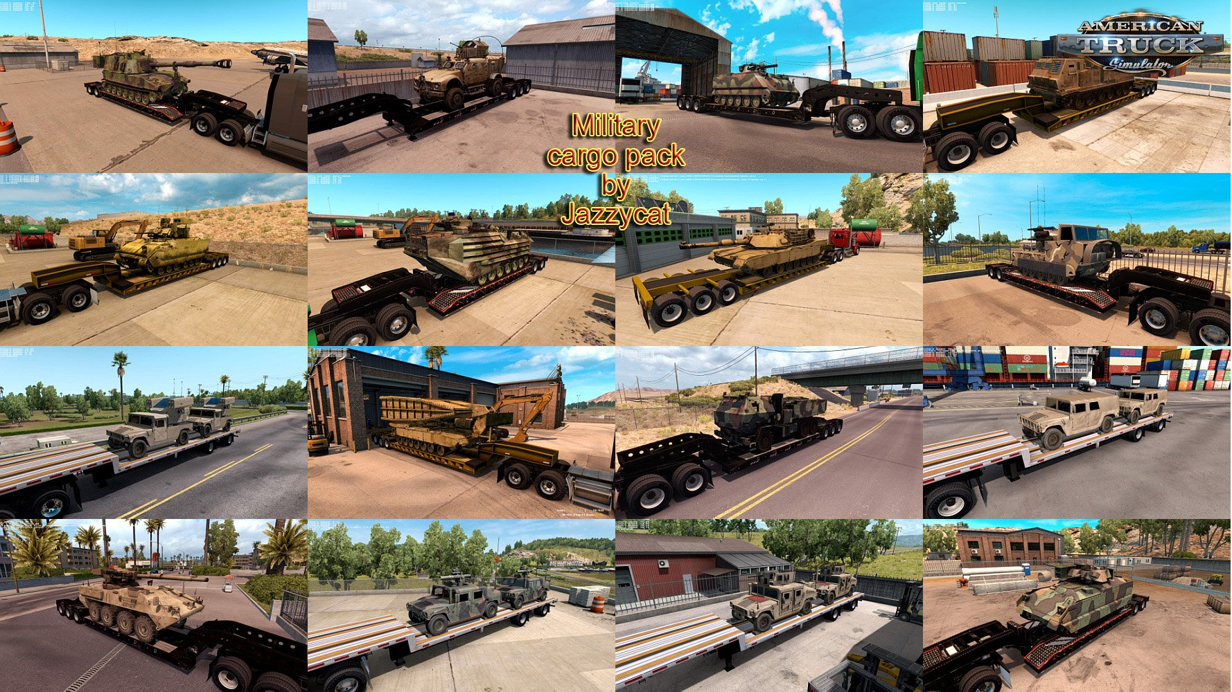 Military Cargo Pack v1.1.2 by Jazzycat