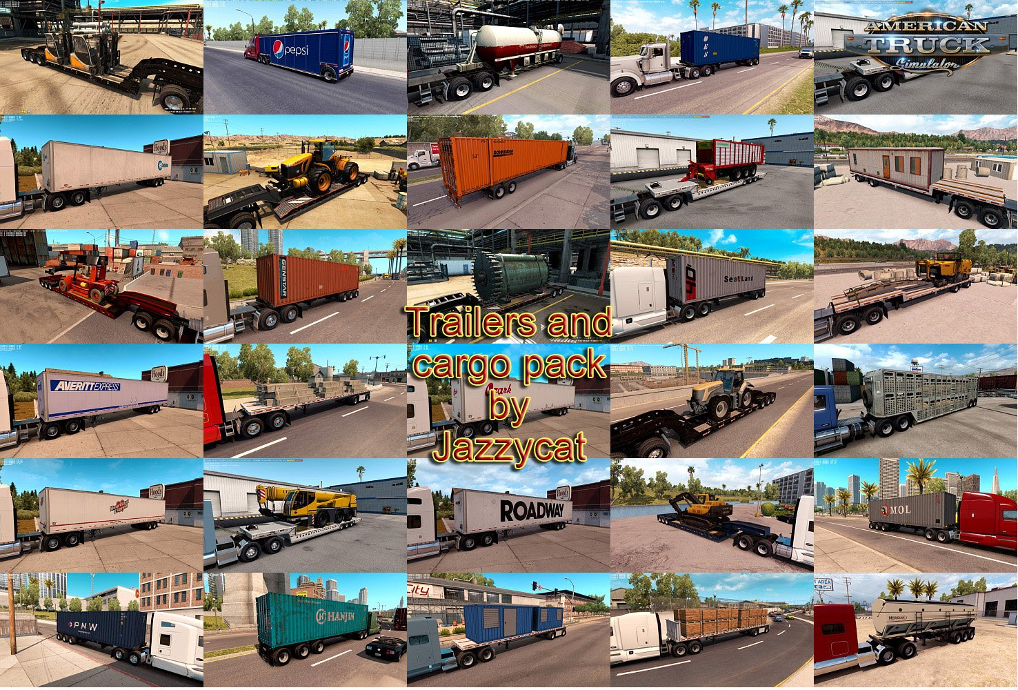 Trailers and Cargo Pack v2.2.1 for Ats by Jazzycat