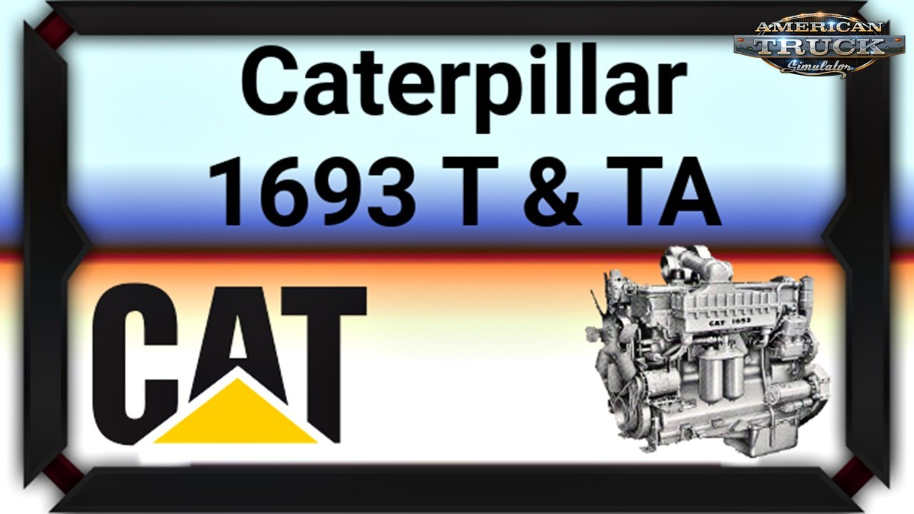 Caterpillar 1693 T & TA Engines for Ats