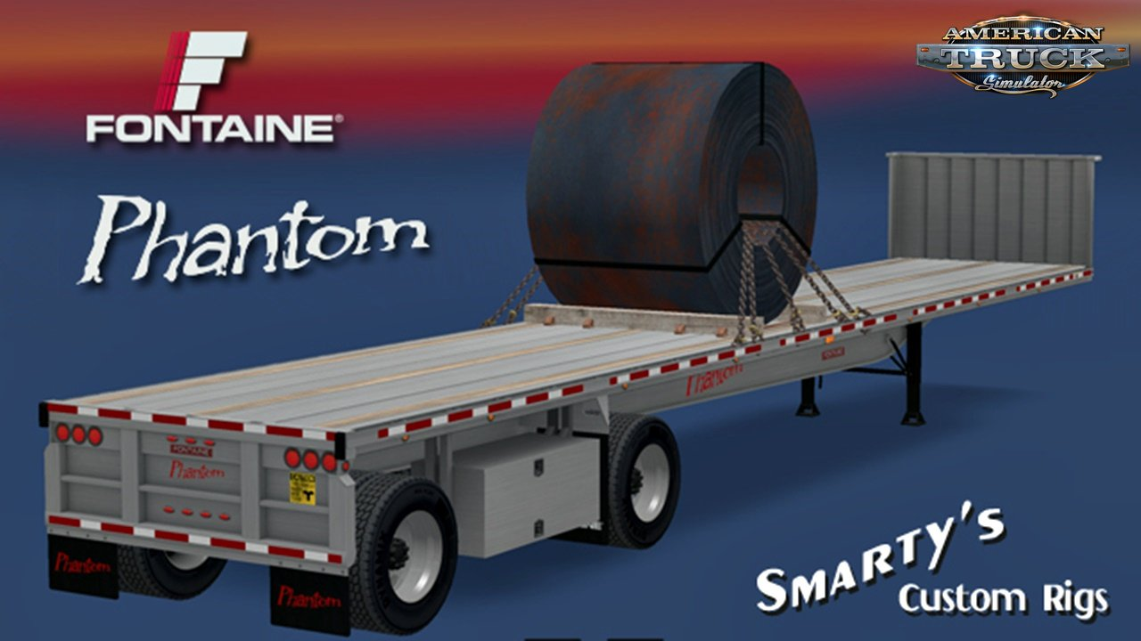 "Fontaine Phantom 48'x102"" Trailer for Ats"