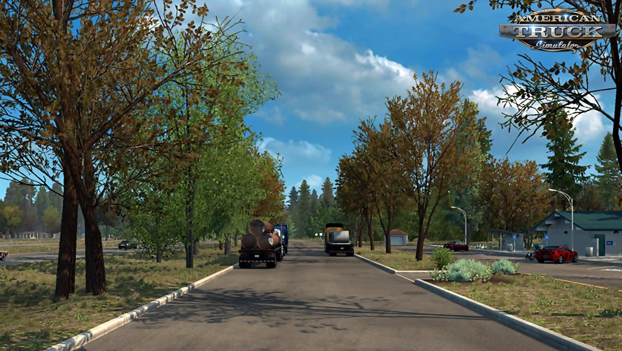 Early Autumn / Fall v1.4 by Grimes (1.37.x) for ATS