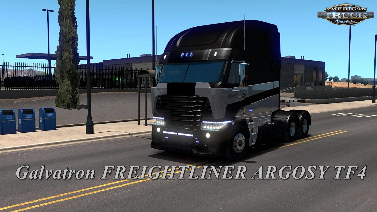 Galvatron TF4 (Freightliner Argosy) for Ats