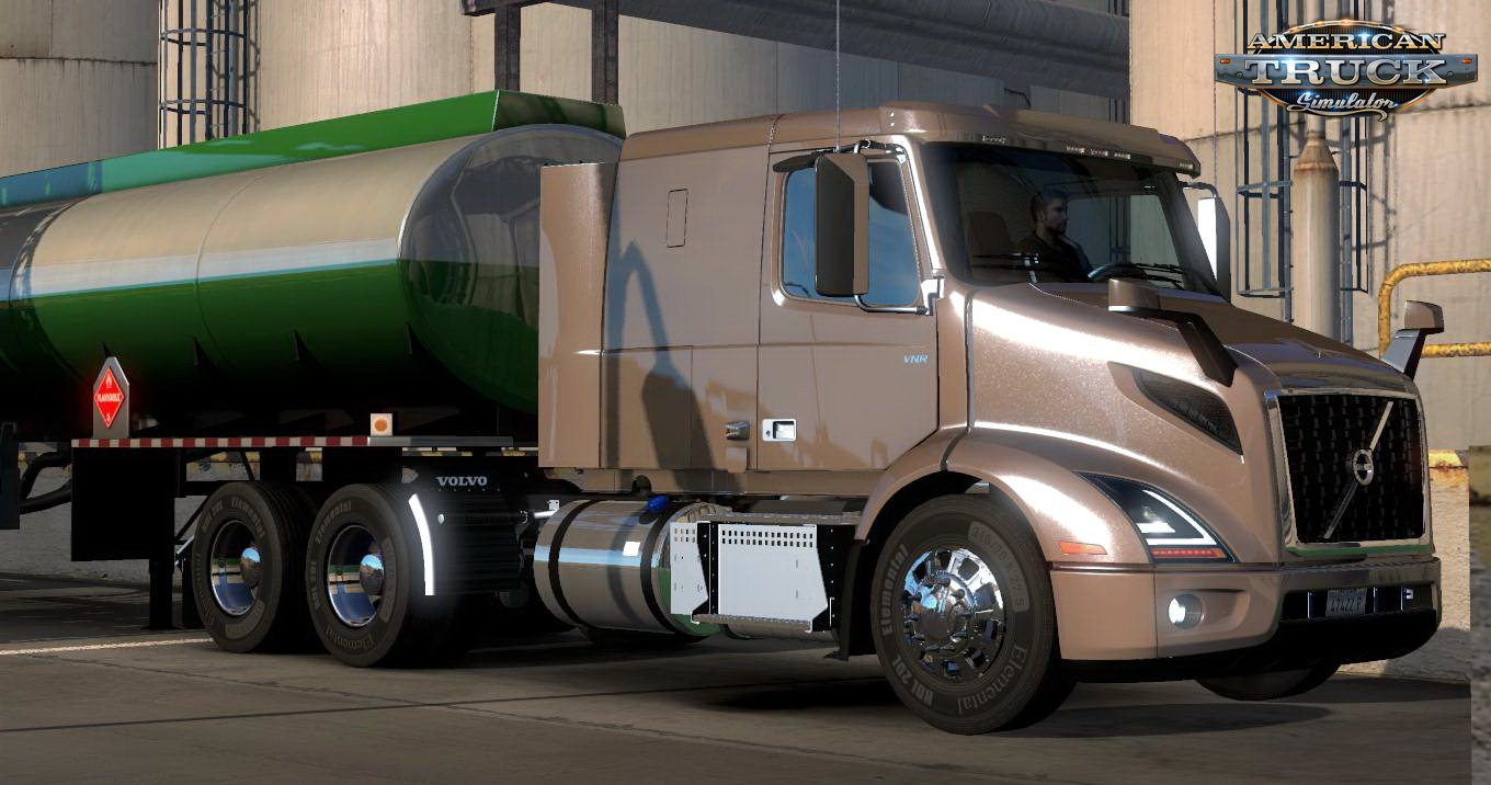 Volvo VNR + Interior v1.18 for ATS (1.35.x)