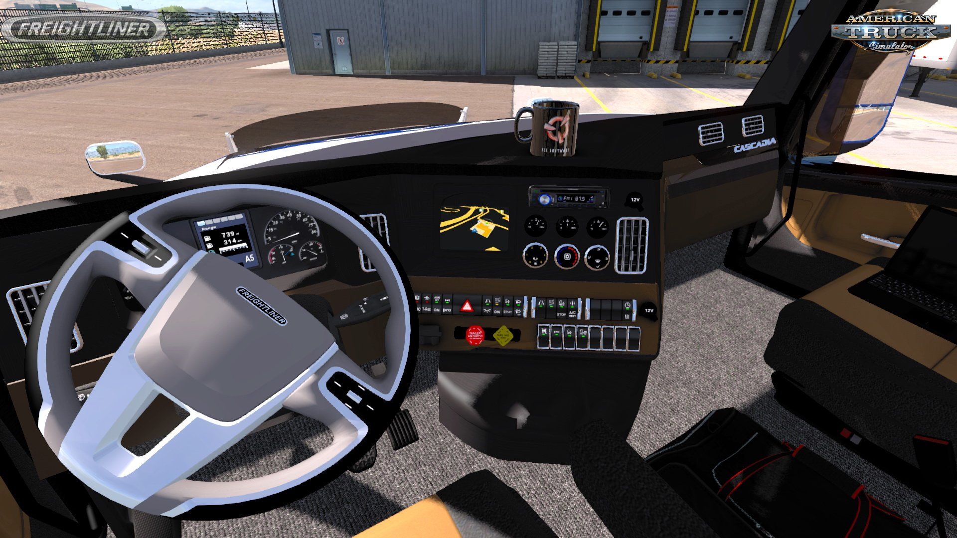 Freightliner Cascadia 2018 v1.0 Edit by Ultrabald (1.32.x)