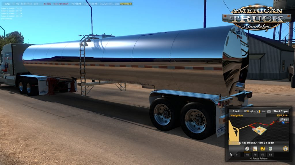 Tremcar Milk Tanker v1.1.0 for Ats