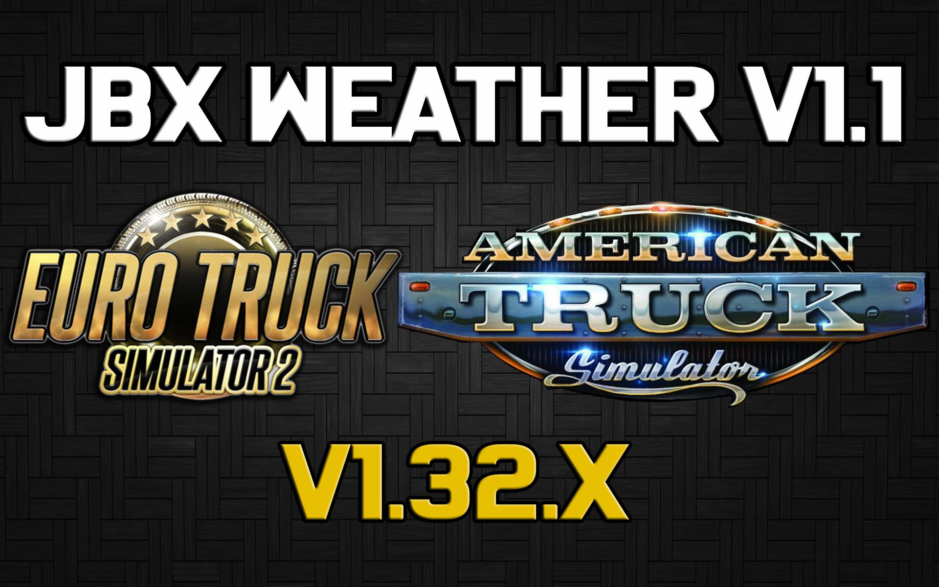 JBX Weather v1.2 by JuanBonX for ATS (1.33.x)