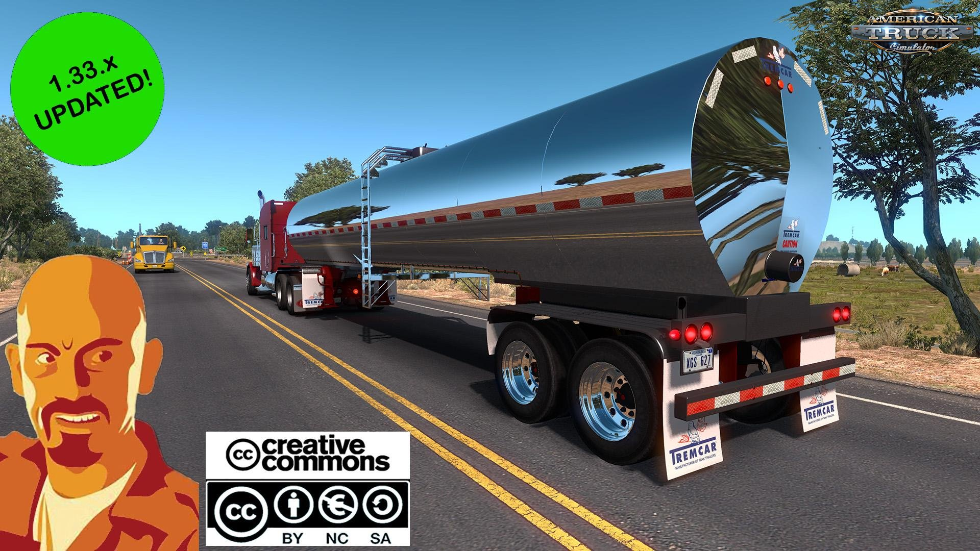 Tremcar Milk Tanker v1.0 Reworked by CyrusTheVirus (1.33.x)