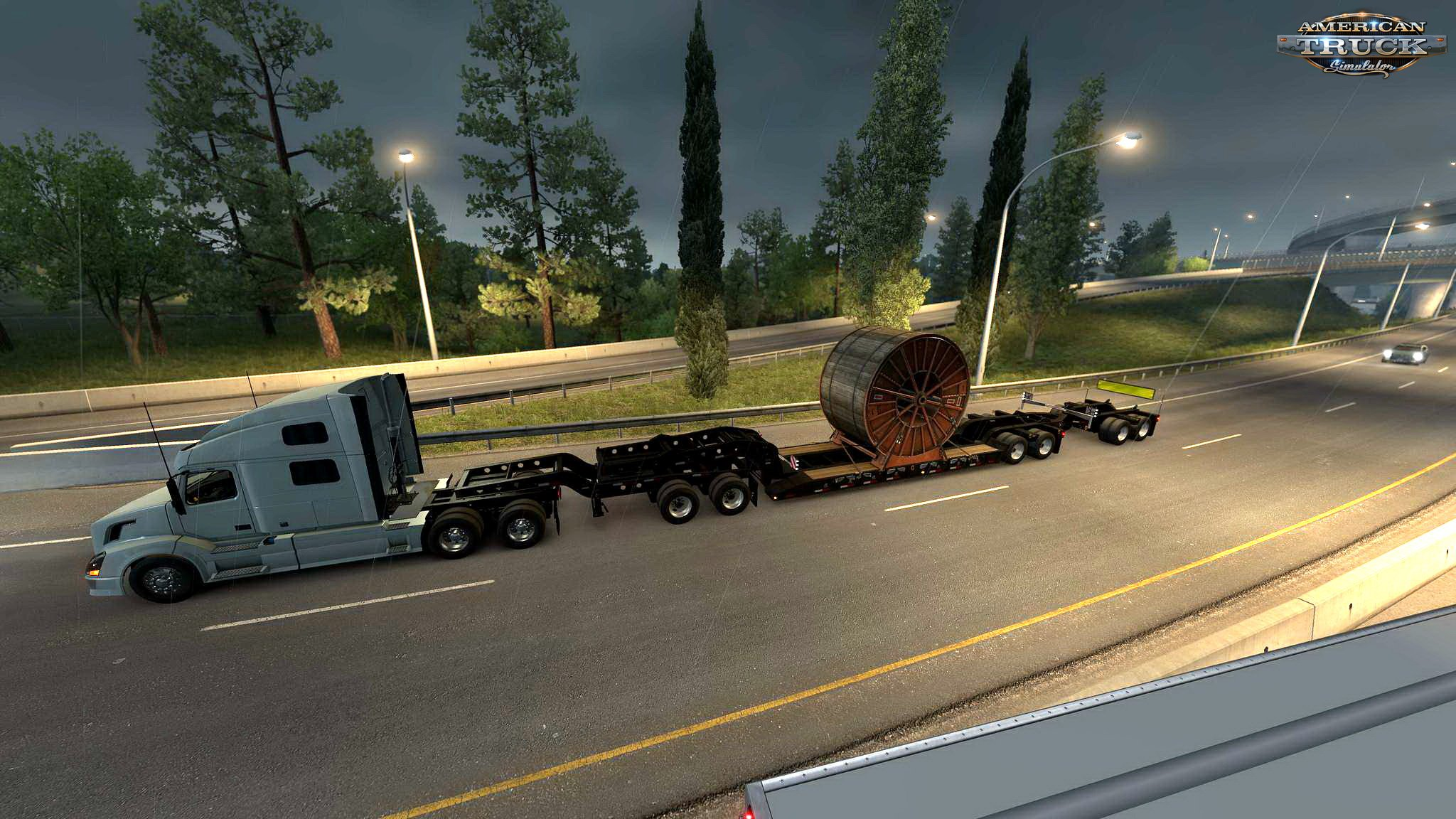 Multiple Trailers in Traffic v3.1 for ATS (1.33.x)