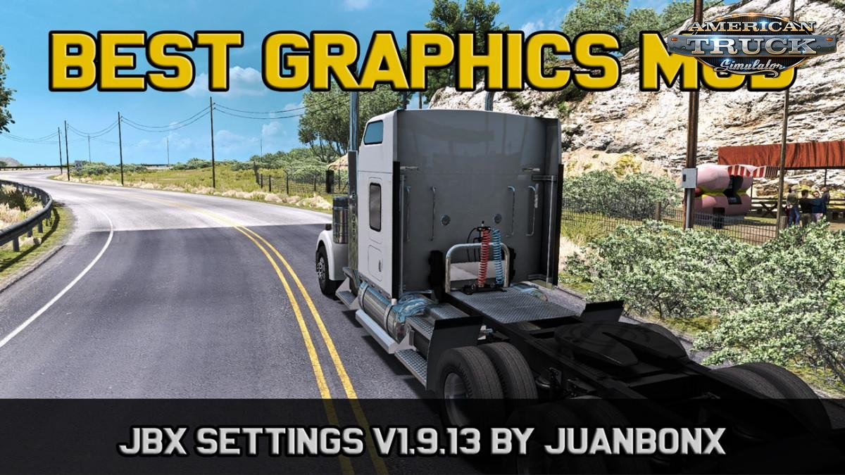 Realistic Lighting 2 JBX Preset v1.9.13 + Reshade v1.0 (1.33.x) for ATS