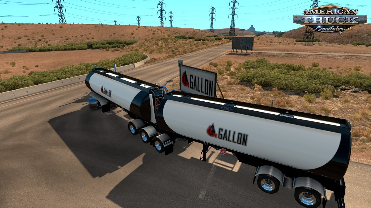Advanced B-Train Tankers v1.1 (1.38.x) for ATS