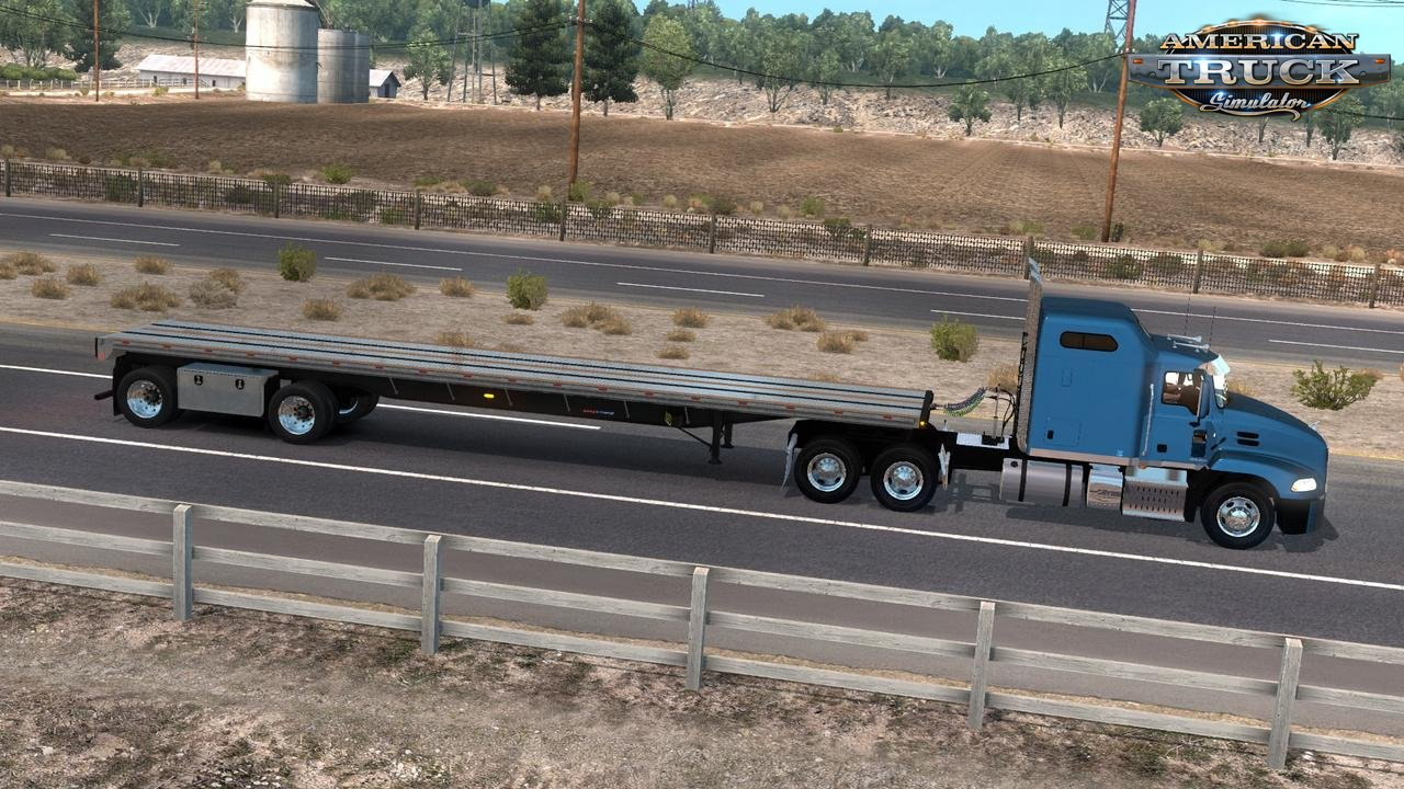 Trailer Great Dane Flatbed Freight FREEDOM LT v1.0 by keithd203 (1.33.x)