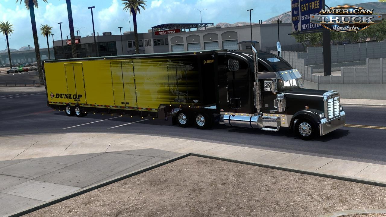 RD Moving Trailer v1.2 (1.33.x) for ATS